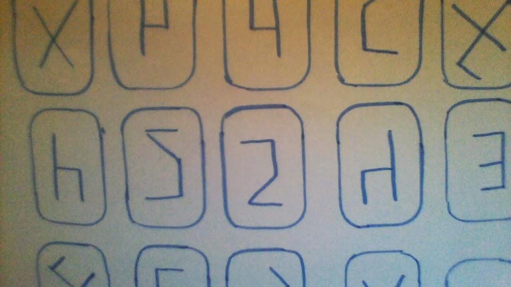 Zabezpieczony: Hieroglify. Odwracanie wzorów