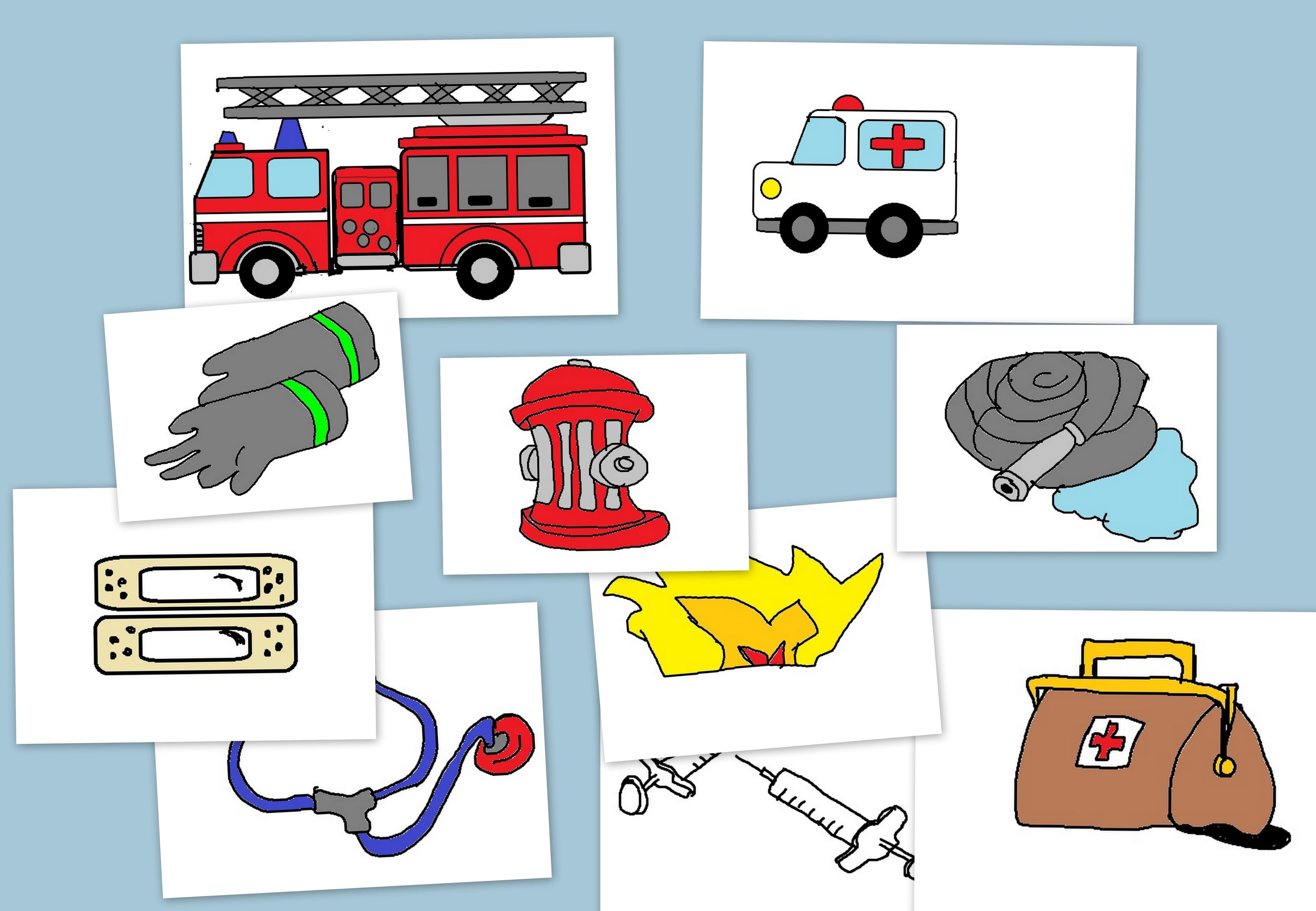 Co dla strażaka, co dla lekarza