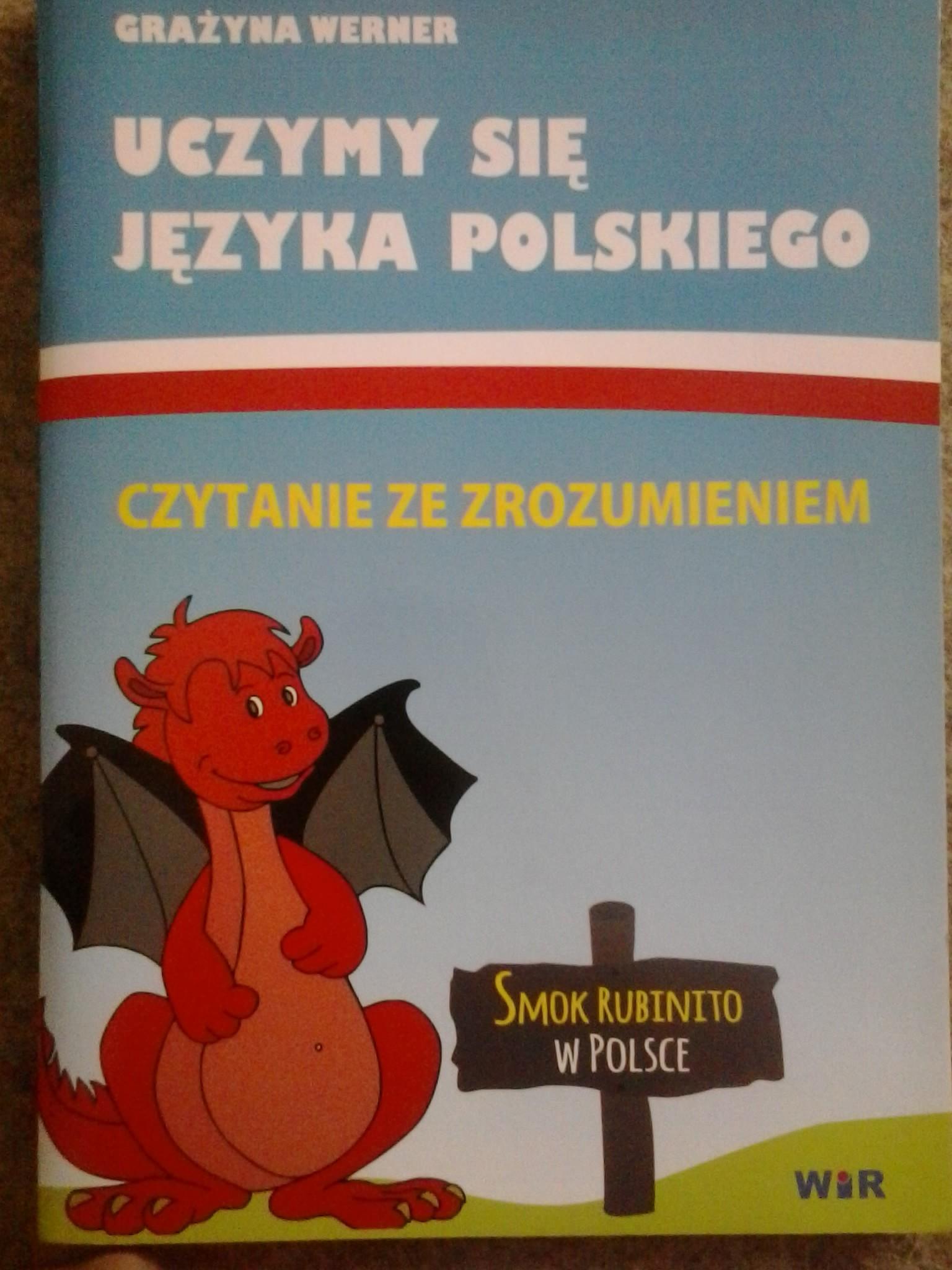 Smok Rubinito w Polsce. Książka dla dwujęzycznych