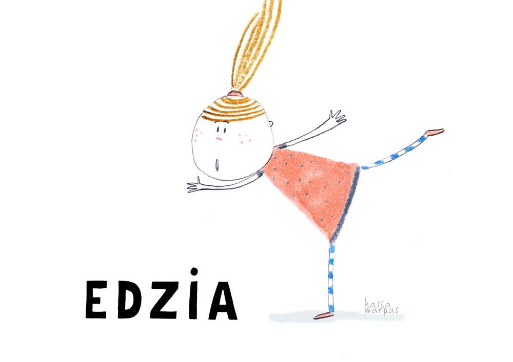 Uczę czytania z Głoską i Bebe: EDZIA