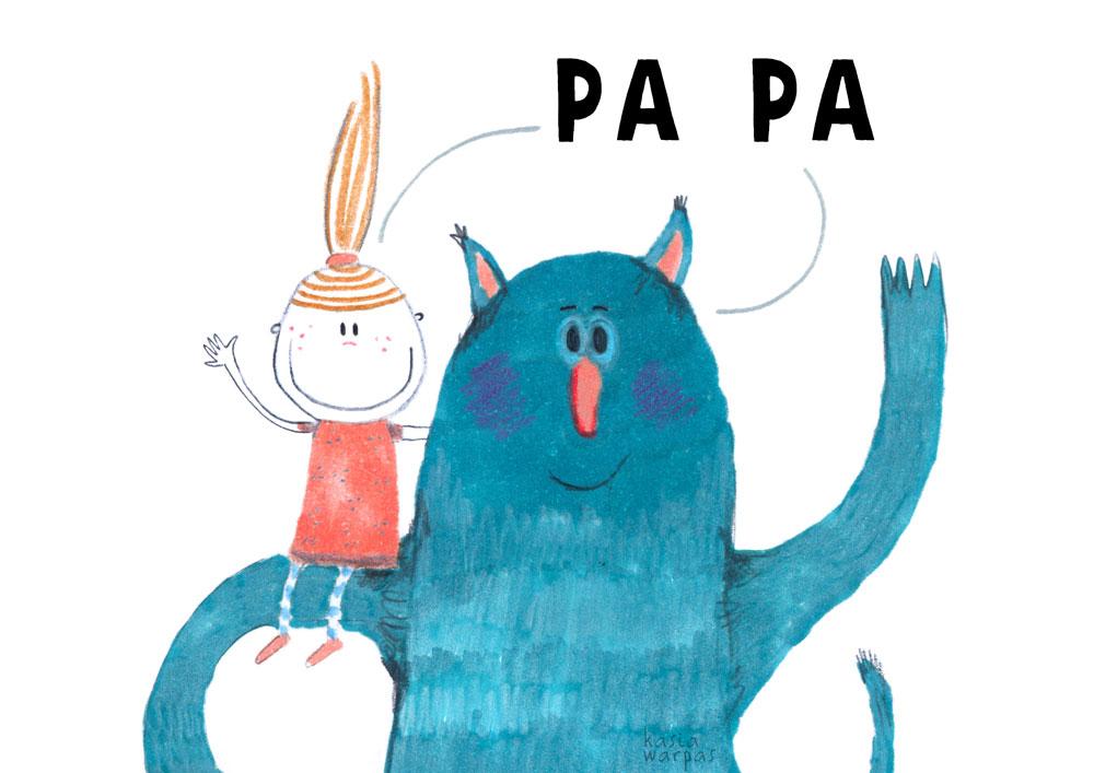 Uczę czytania z Głoską i Bebe: PA